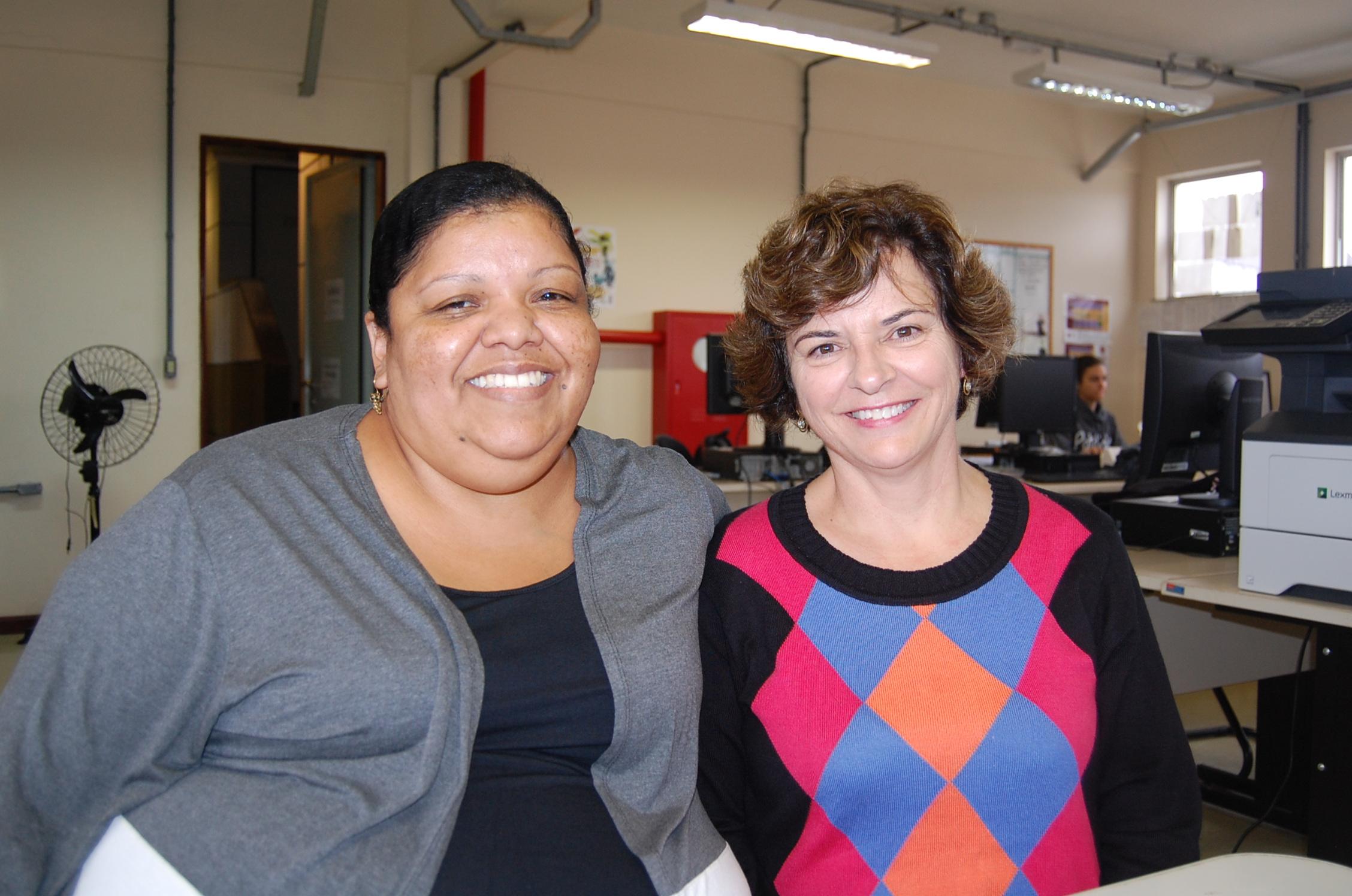 Denise Costa Rosa e Rosa Maria da Exaltação Coutrim: Foto_Gláucio Santos
